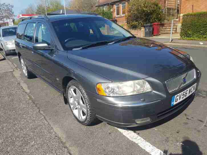volvo v70 2 4 170bhp auto 2007my se car for sale. Black Bedroom Furniture Sets. Home Design Ideas