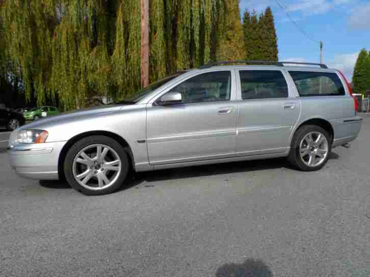 Volvo V70 2.4 D5 SE ESTATE 185BHP 55 PLATE FACE LIFT MODEL ONE OWNER