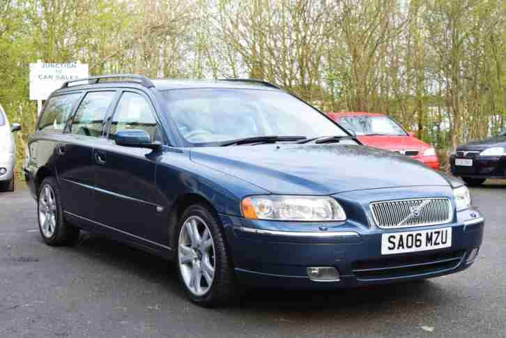 Volvo V70 2.4 D5 SE ESTATE JUST 65000 MILES FULL LEATHER 06 PLATE