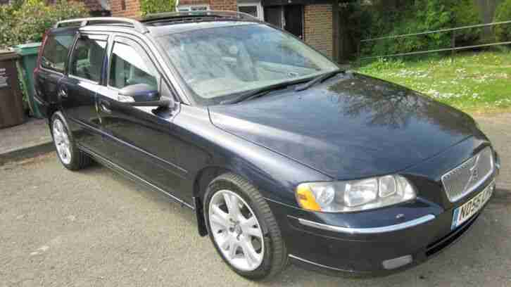 Volvo V70 D5. Volvo car from United Kingdom