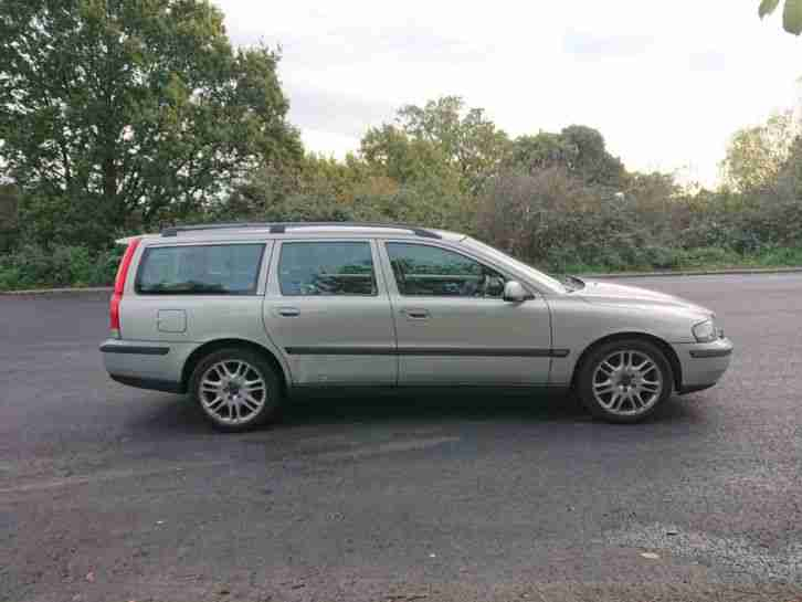 V70 T5 Estate 2.3 turbo 5 cylinder 2002