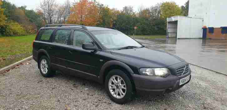 Volvo XC70 2.4TD. Volvo car from United Kingdom