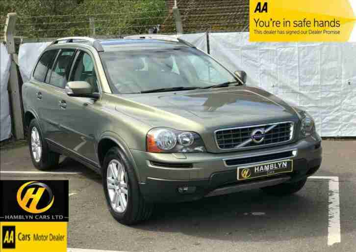 Volvo XC90 2.4TD D5 ( 200bhp ) AWD Geartronic 2011 SE, 1 Owner, FSH, Low Mileage