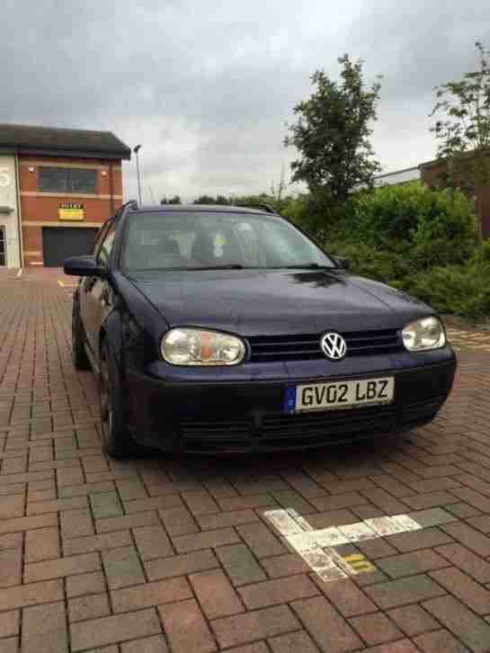 Vw Golf Mk4 Estate Modified Arl Owned For 10 Years Car For Sale