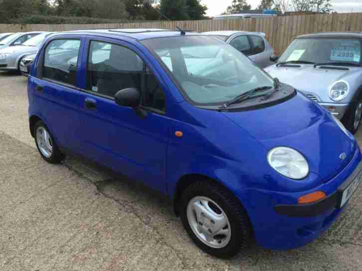 W reg 2000 Matiz 0.8 SE Plus 5 door