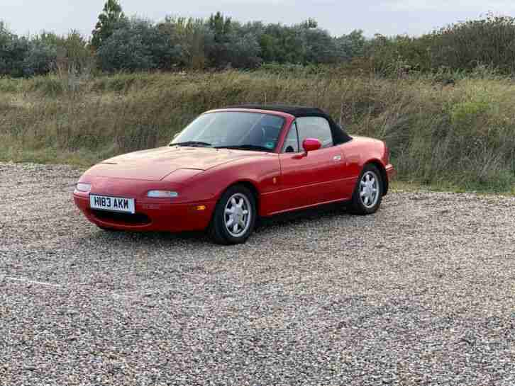 Well kept, low mileage, collectible 1990 MX5