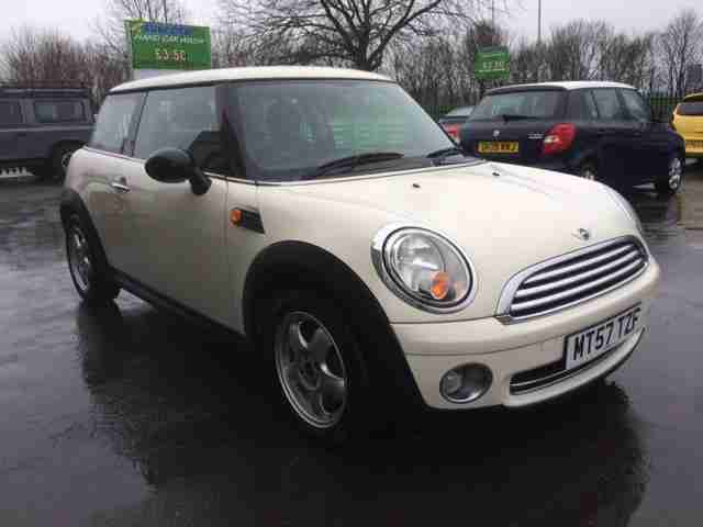 Mini Whitte 1.4. Mini car from United Kingdom
