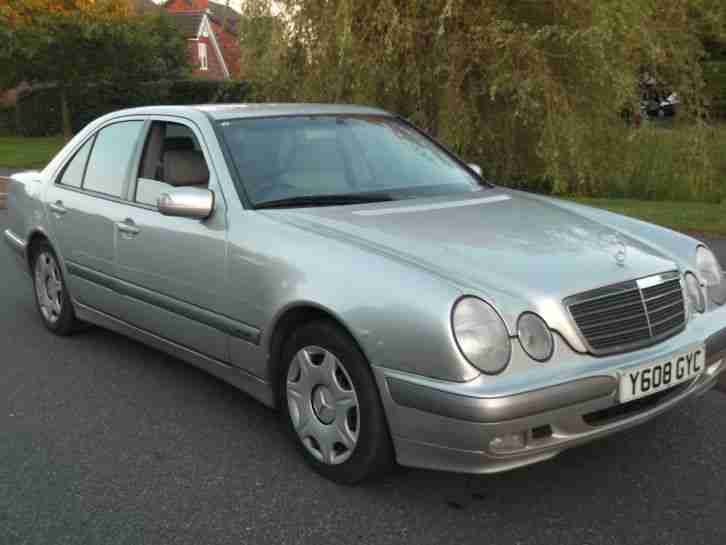 y reg mercedes e320 cdi classic auto 3 2 diesel nice car mot next. Black Bedroom Furniture Sets. Home Design Ideas