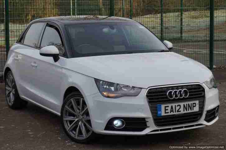 audi a1 1 4 tfsi sport in stunning white car for sale. Black Bedroom Furniture Sets. Home Design Ideas