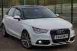 a1 1.4 tfsi sport in stunning white