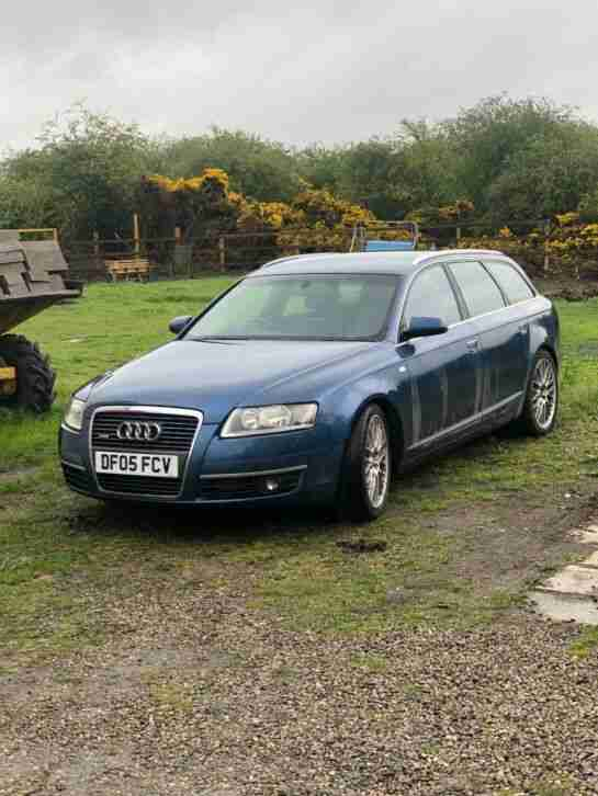 Audi A6 3.0. Audi car from United Kingdom