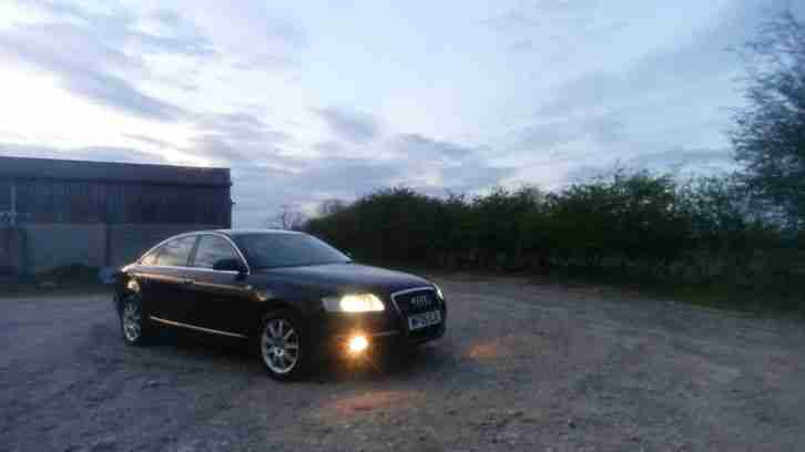 Audi A6 quatro. Audi car from United Kingdom