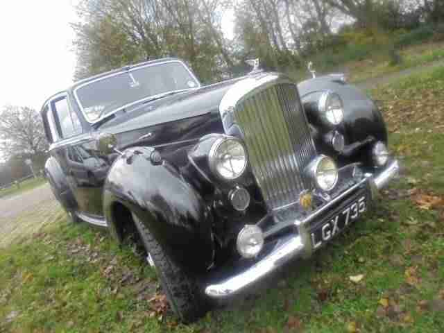 bentley mk vi mark 6 mk 6 classic car