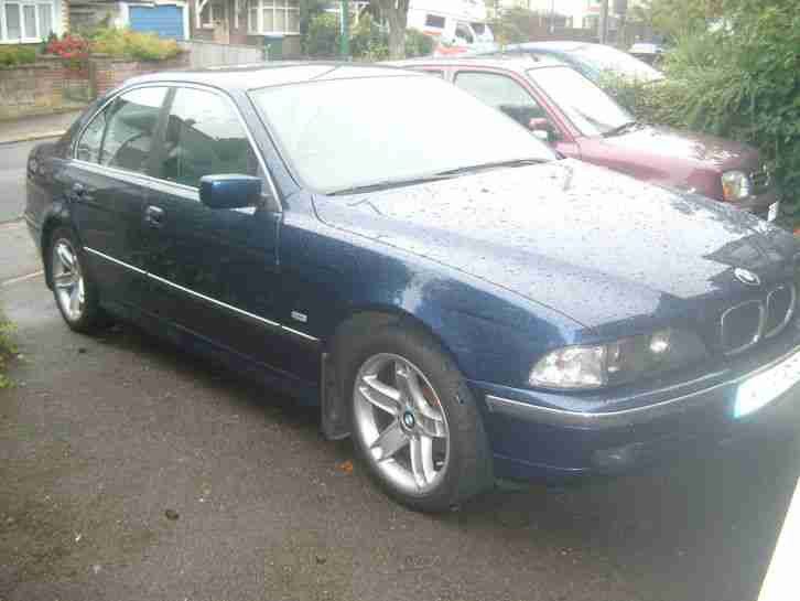 bmw 523i, 2.5 auto, year 2000, 105,000 miles, fsh.leather.