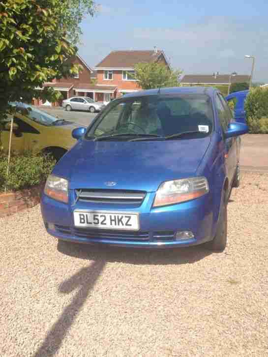 car kalos 2003 SPARES OR REPAIRS