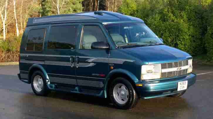 chevrolet astro van starcraft mpv day van. car for sale