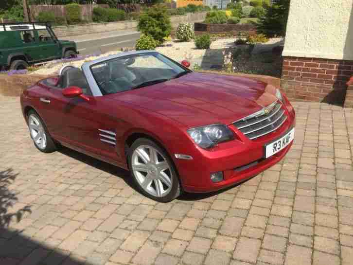chrysler crossfire convertible 22k 1 owner car for sale. Black Bedroom Furniture Sets. Home Design Ideas