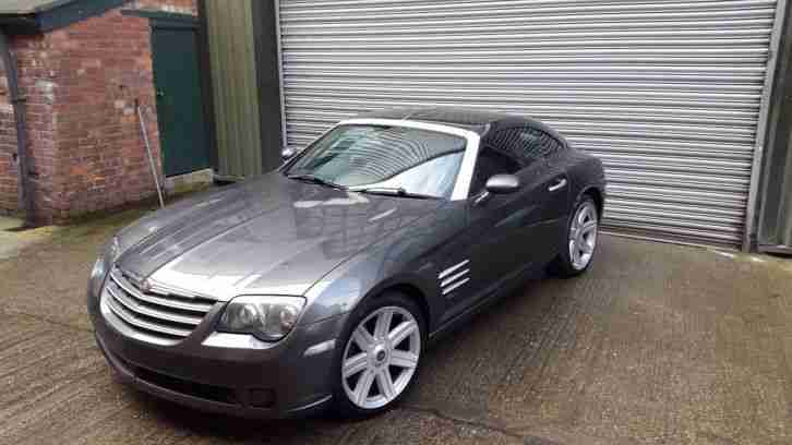 Chrysler Crossfire coupe. Chrysler car from United Kingdom