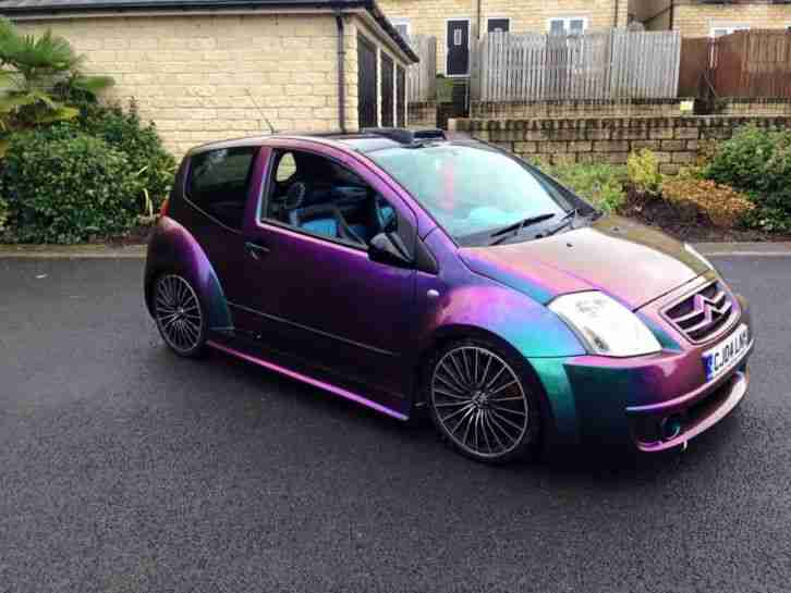 citreon c2 gt modified show car only 18k miles car for sale. Black Bedroom Furniture Sets. Home Design Ideas