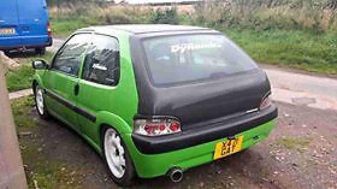 citroen saxo vtr modified carbonfiber