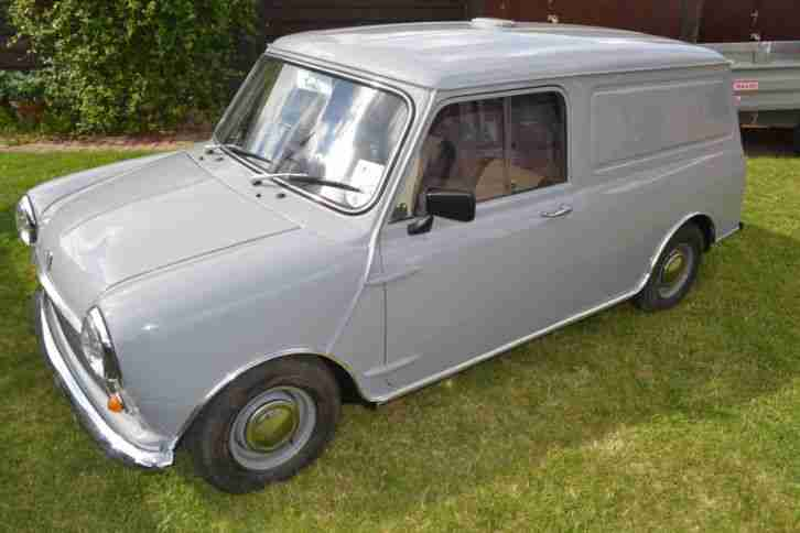 Mini Clic Van Car From United Kingdom