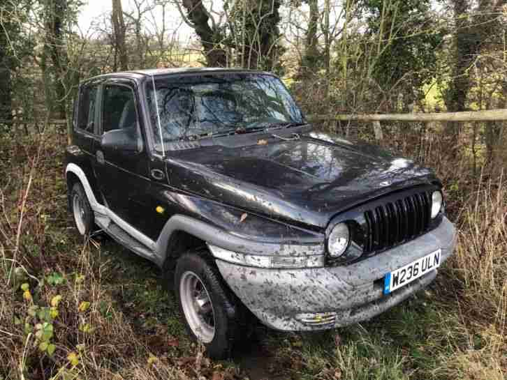 Korando 2.3 spares or repair
