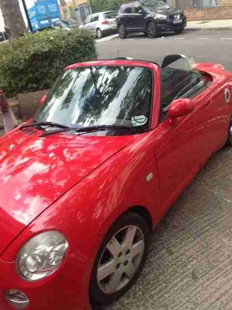 Daihatsu Copen convertible. Daihatsu car from United Kingdom