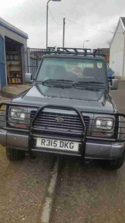 Daihatsu Fourtrak TDX. Daihatsu car from United Kingdom