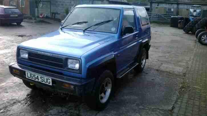 daihatsu sportrak elx i spares or repair  car for sale
