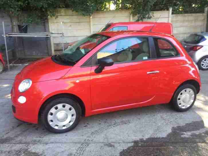 fiat 500 pop 2010 27k very low milage
