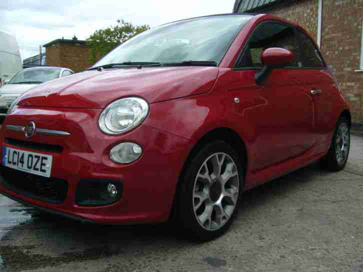 Fiat 500s convertable automatic 2014