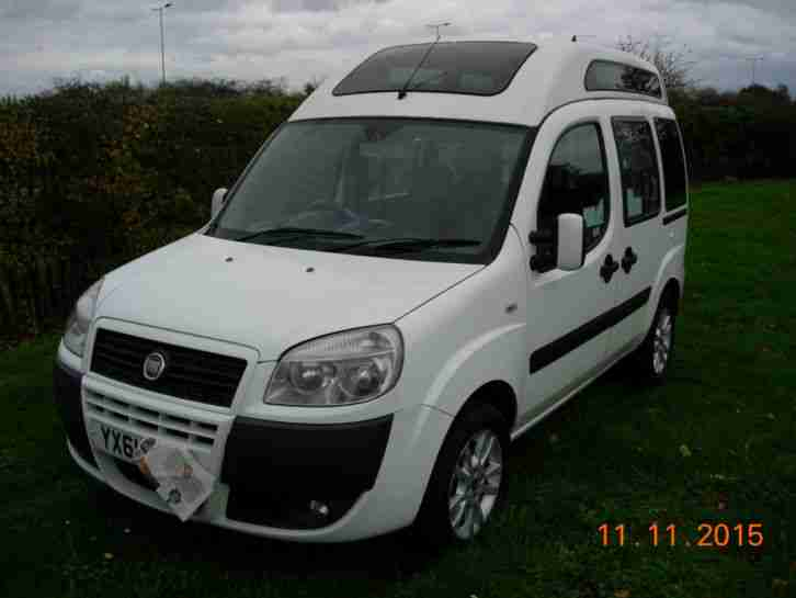 fiat doblo 2011/61 cab direct allied vehicles conversion with m1- certificate