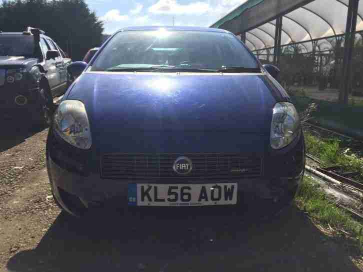 Fiat Grande punto. Fiat car from United Kingdom