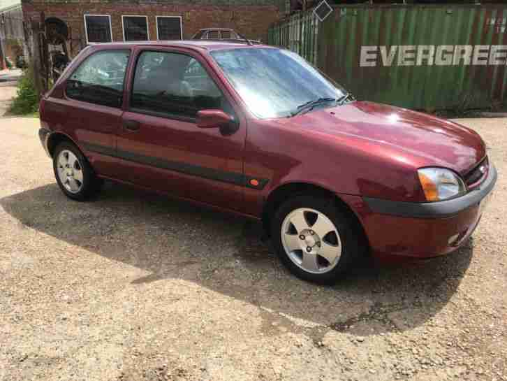 Ford Fiesta zetec. Ford car from United Kingdom