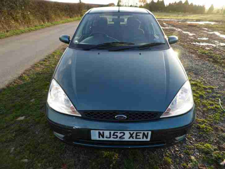 ford focus 1.6 ze-tec,1 former keeper,12 months mot,52 plate,air con,£595