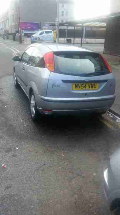 Ford Focus. Ford car from United Kingdom