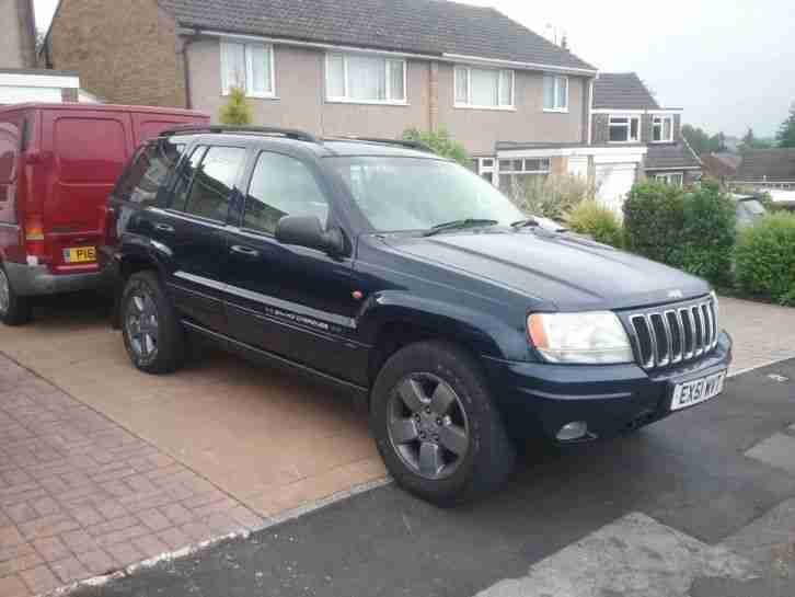 Grand cherokee 4.7. Jeep car from United Kingdom