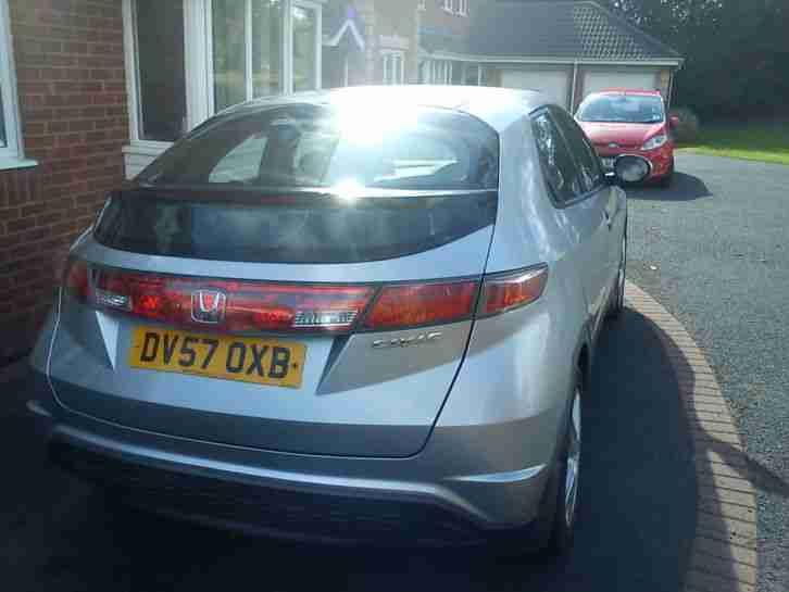 honda civic 1.4 57 plate silver good condition 85,000 miles