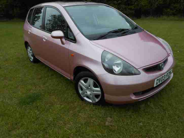 Honda Jazz Se Full Service History Pink Car Car For Sale