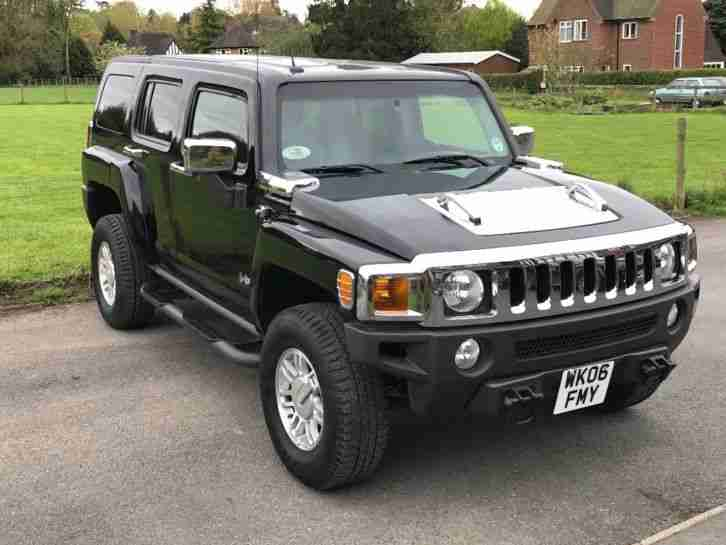 Hummer H3. Hummer car from United Kingdom