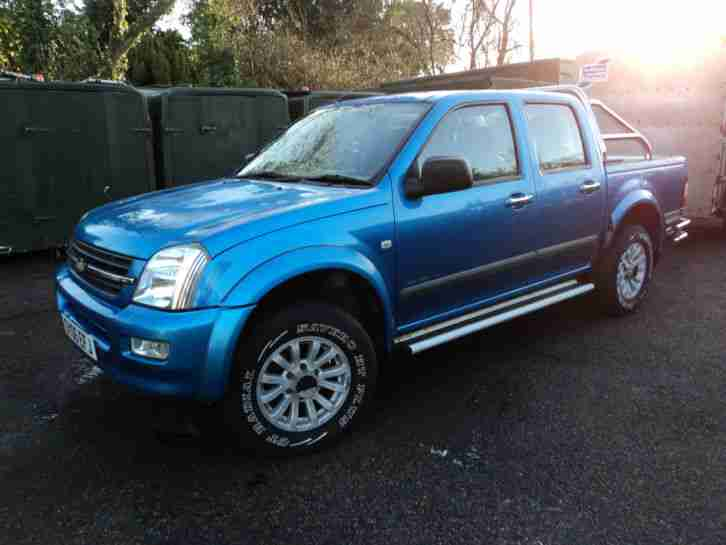 Isuzu rodeo 3ltr.tdi,2006 06.manual.4x4,double cab, chevrolet luv,air con
