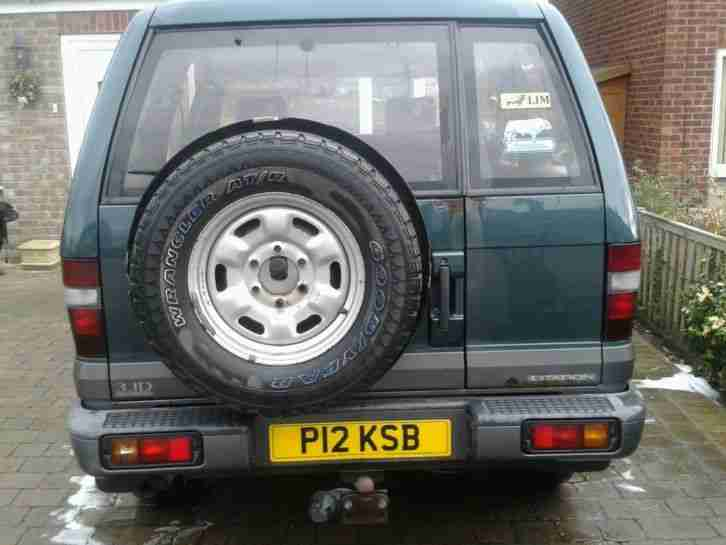 isuzu trooper 3.1 citation lwb diesel 1997