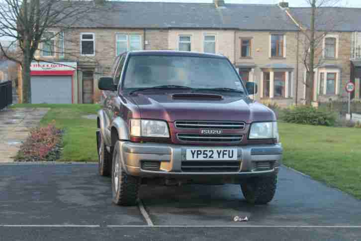 isuzu trooper 52 plate spares and repairs
