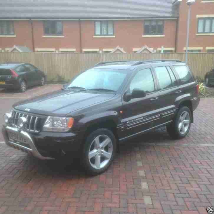 jeep grand cherokee 2 7 crd 2005 54 car for sale. Black Bedroom Furniture Sets. Home Design Ideas