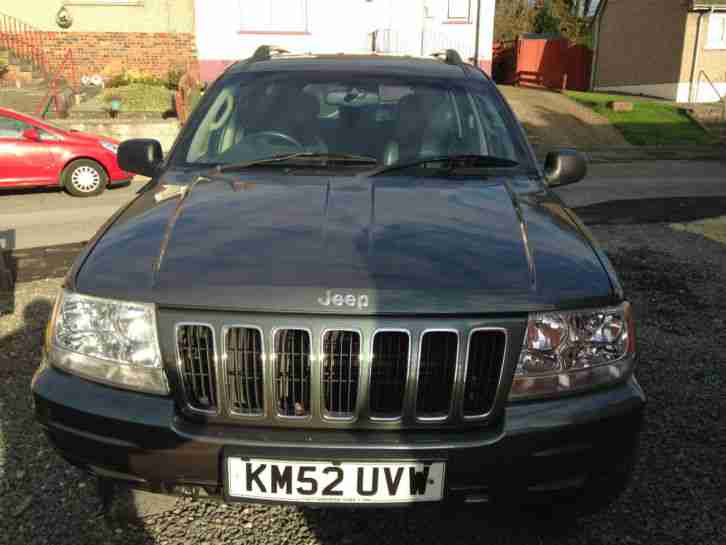 Jeep grand cherokee 2 7 crd spares or repair in limp mode