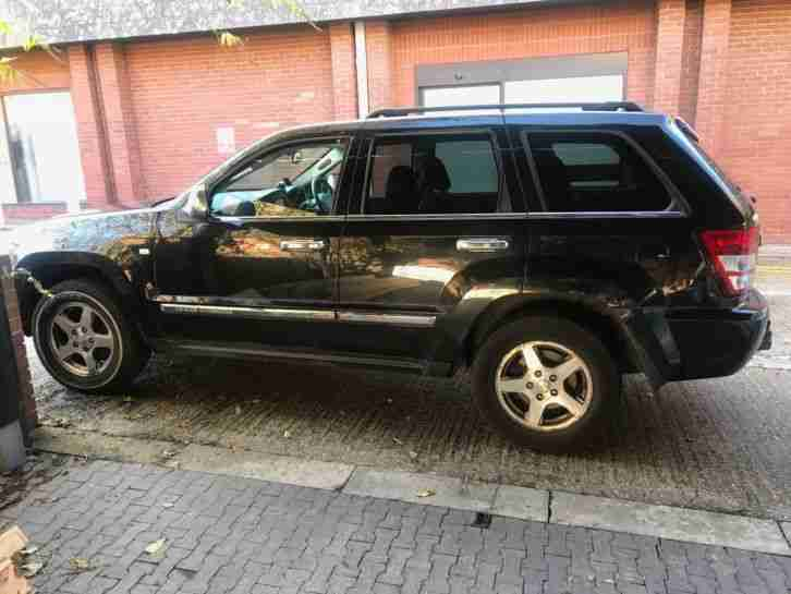 Jeep grand cherokee 3.0 V6 crd SPARES OR REPAIR