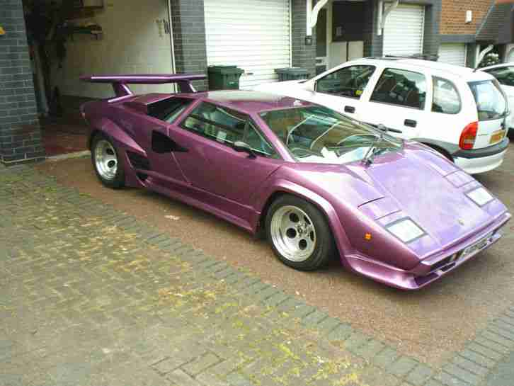 Lamborghini countach kit car