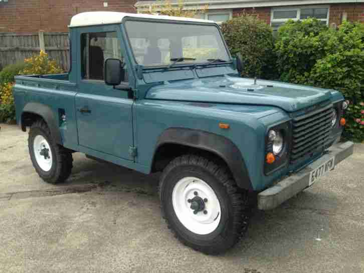 Land Rover Defender 90 New Galvanised Chassis Pick Up