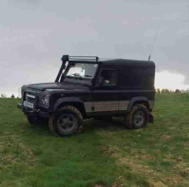 Land Rover Defender 90 Td5 Re Mapped 200bhp Roughly. Car