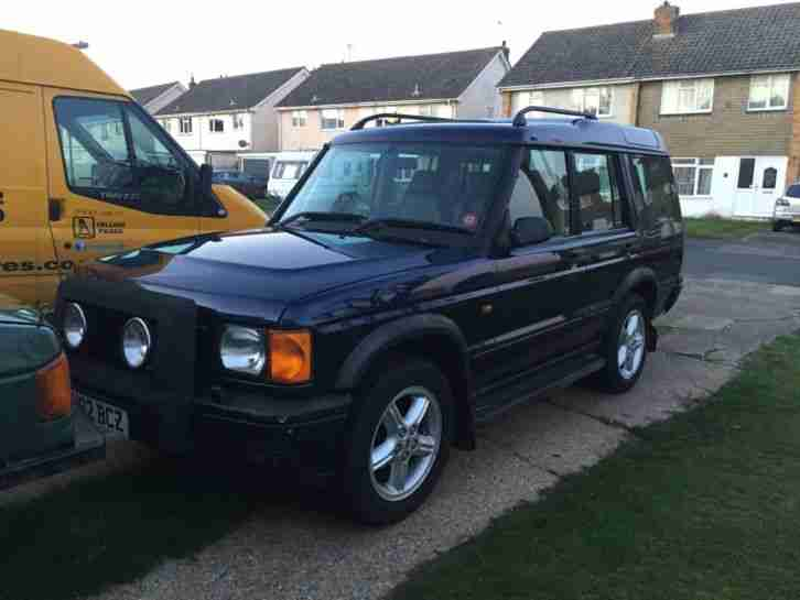 land rover discovery 2 TD5 es auto, leather,